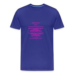 Proof for the Existence of God - Men's Premium T-Shirt