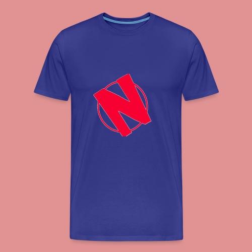 Nathanplayz Logo - Men's Premium T-Shirt