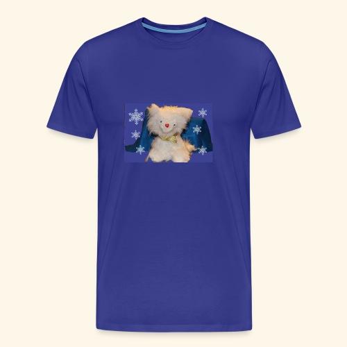 snow flakes - Men's Premium T-Shirt