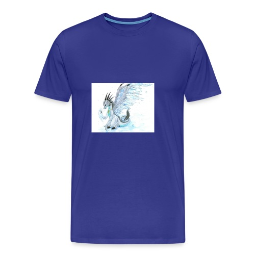 Little dude griffins and dragons 30659635 1004 791 - Men's Premium T-Shirt