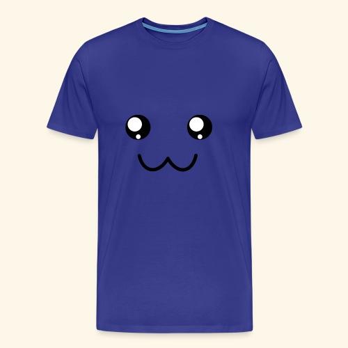 Kawaii face - Men's Premium T-Shirt