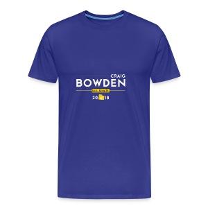 Craig Bowden - US Senate - Men's Premium T-Shirt