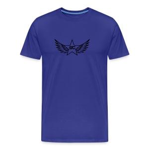 Starr logo black - Men's Premium T-Shirt