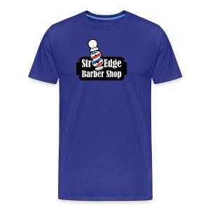 Str8 Edge Logo - Men's Premium T-Shirt