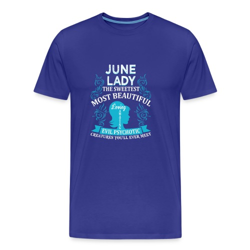 June lady - Men's Premium T-Shirt