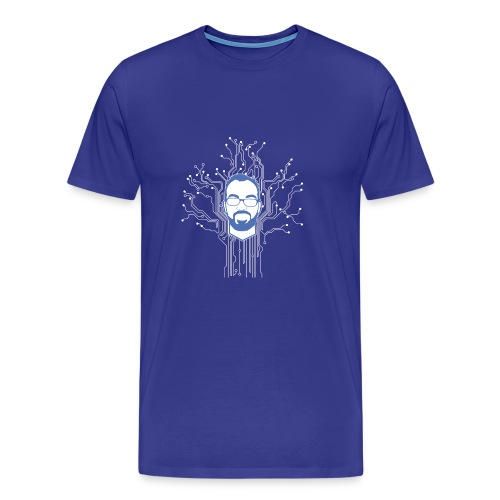 DB Tech Circuit - Men's Premium T-Shirt