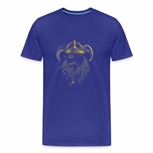 Viking Warrior - Men's Premium T-Shirt