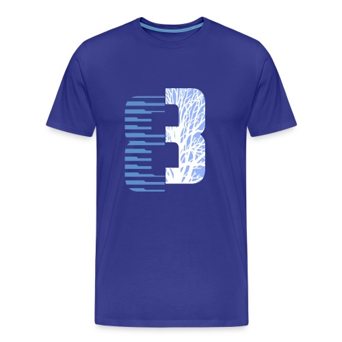 Eight Art blue - Men's Premium T-Shirt