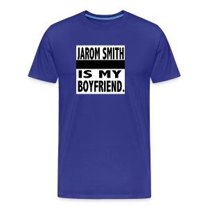 Jarom IS MY BOYFRIEND WORDS - Men's Premium T-Shirt