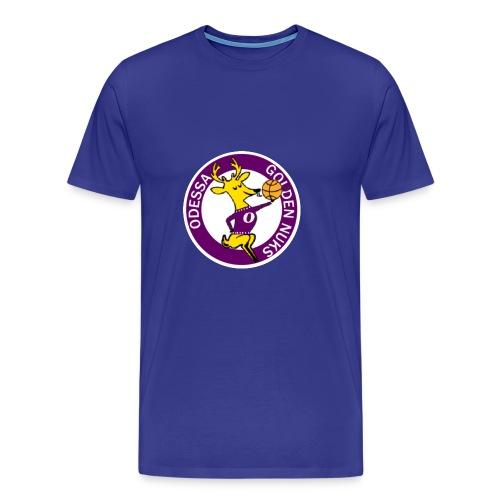 Logo White Outline - Men's Premium T-Shirt