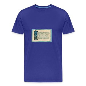 A Parkie's Tale-The Road Goes Ever On - Men's Premium T-Shirt