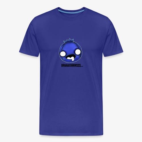Zomberry wants braaaiiinnnsss - Men's Premium T-Shirt