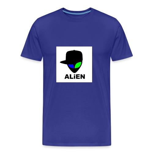 ALIEN LOGO - Men's Premium T-Shirt