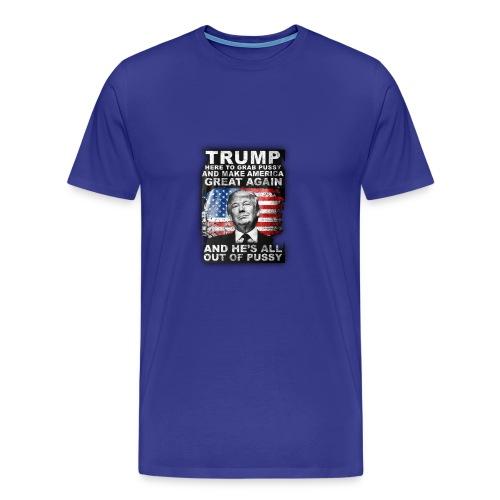 Trump is Here! - Men's Premium T-Shirt