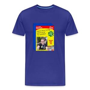 sandinkler cereal box - Men's Premium T-Shirt