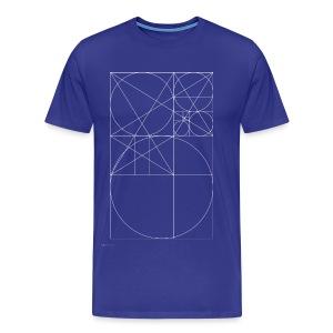 The Golden Rule - White - Men's Premium T-Shirt