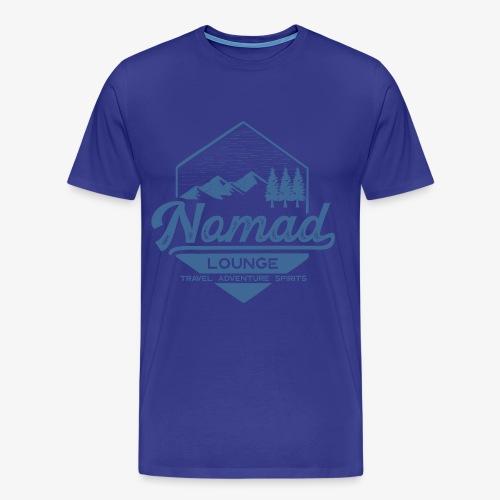 Nomad Hex (Blue) - Men's Premium T-Shirt