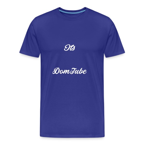 It's DomTube - Men's Premium T-Shirt