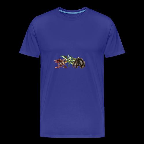 FFXIV Primals - Men's Premium T-Shirt