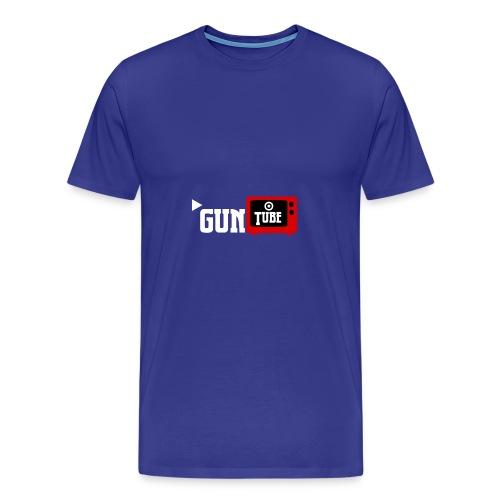 GunTube White - Men's Premium T-Shirt