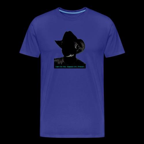 Stormy's Fear the Hat design - Men's Premium T-Shirt