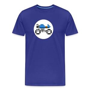 Cafe Racer Motorcycle - Men's Premium T-Shirt