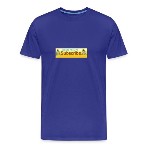 GAMES FOR LIFE - Men's Premium T-Shirt