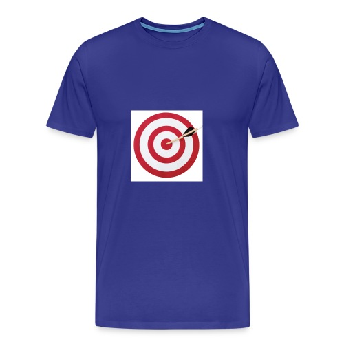 bulls eye - Men's Premium T-Shirt