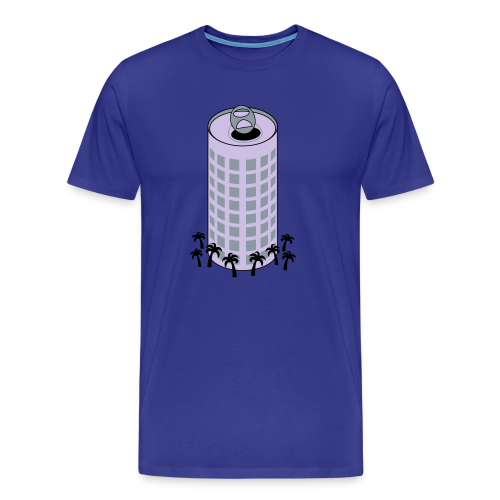Beer Can Building - Tampa T-Shirt - Men's Premium T-Shirt