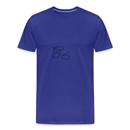 BG sign - Men's Premium T-Shirt