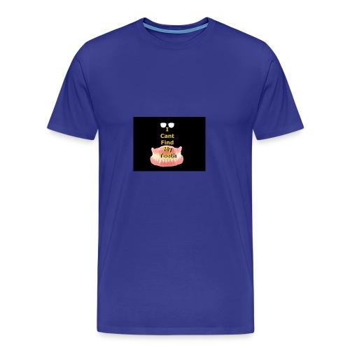 I can't find my teeth - Men's Premium T-Shirt