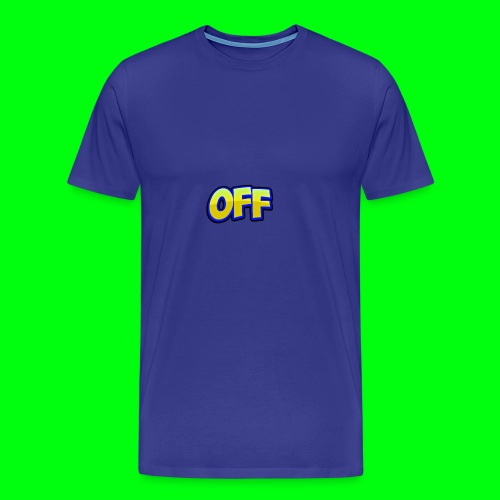 OFF logo - Men's Premium T-Shirt