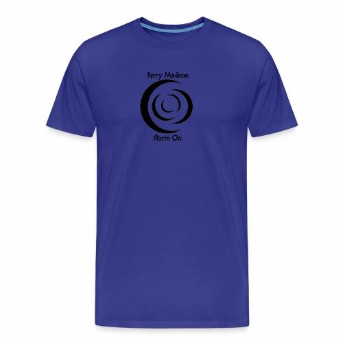 Storm On Spiral Storm - Men's Premium T-Shirt