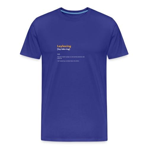 laylaxing gold - Men's Premium T-Shirt