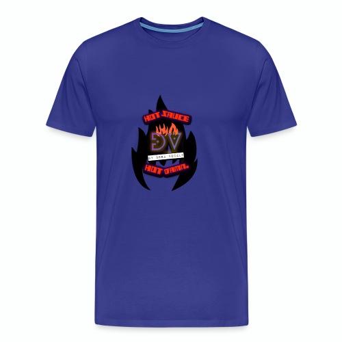 Hot Sauce Hot Damn - Men's Premium T-Shirt
