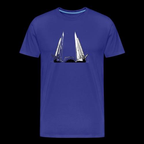 Stormy's starship design - Men's Premium T-Shirt