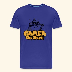 Gamer On Deck Graphic - Version 1-2 - Men's Premium T-Shirt