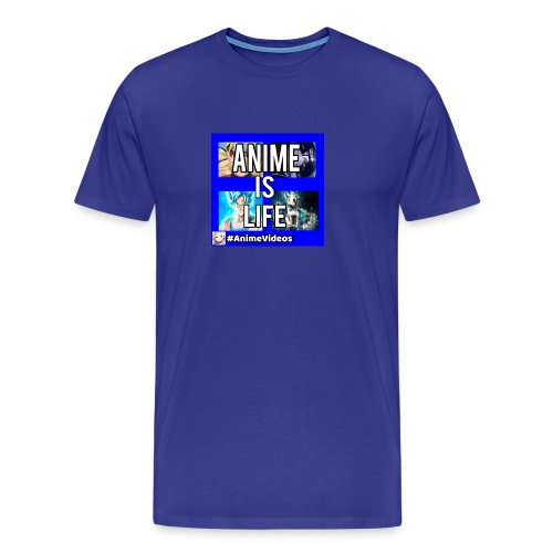 Anime Is Life - Men's Premium T-Shirt