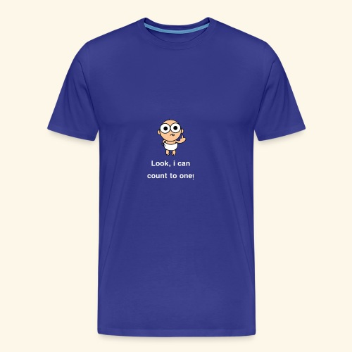 i-can-count-2018 - Men's Premium T-Shirt