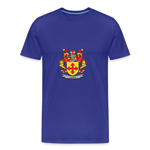 Carlisle Family Crest - Men's Premium T-Shirt