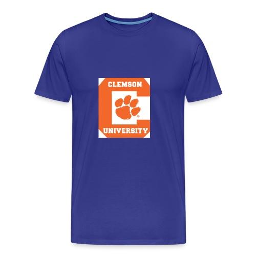Clemson University Logo 1 - Men's Premium T-Shirt