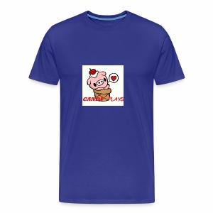 Candy Plays - Men's Premium T-Shirt