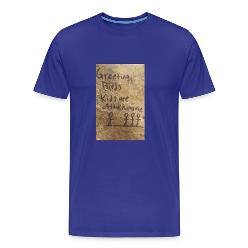 Kids are attacking me - Men's Premium T-Shirt