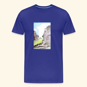 LANDSCAPE MULTI COLOUR - Men's Premium T-Shirt