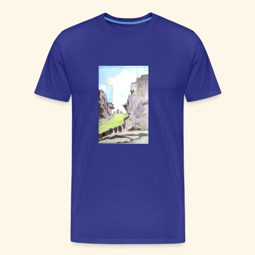 LANDSCAPE MULTI COLOUR - Men's Premium T-Shirt