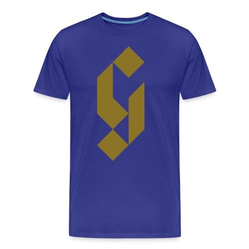 G Initial Glmn Logo - Men's Premium T-Shirt