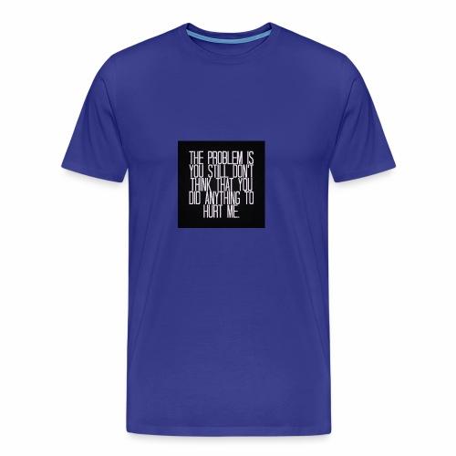 Its a Sad Quote - Men's Premium T-Shirt