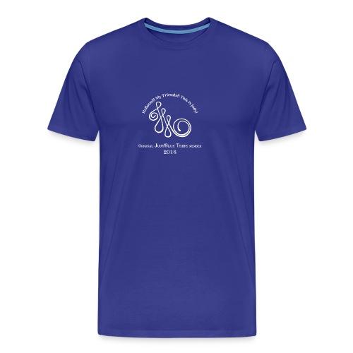 Original Member JudyBlue Tribe 2016 (white logo) - Men's Premium T-Shirt