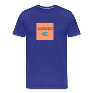 1 Corinthians 10:13 - Men's Premium T-Shirt