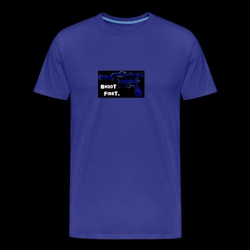 Stormy's Shoot First design - Men's Premium T-Shirt